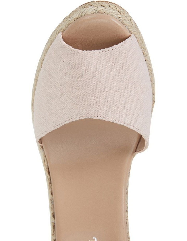 Aloha Blush Linen Sandal image 7