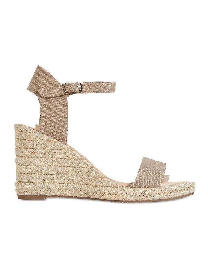 Audrey Natural Linen Sandal image 1