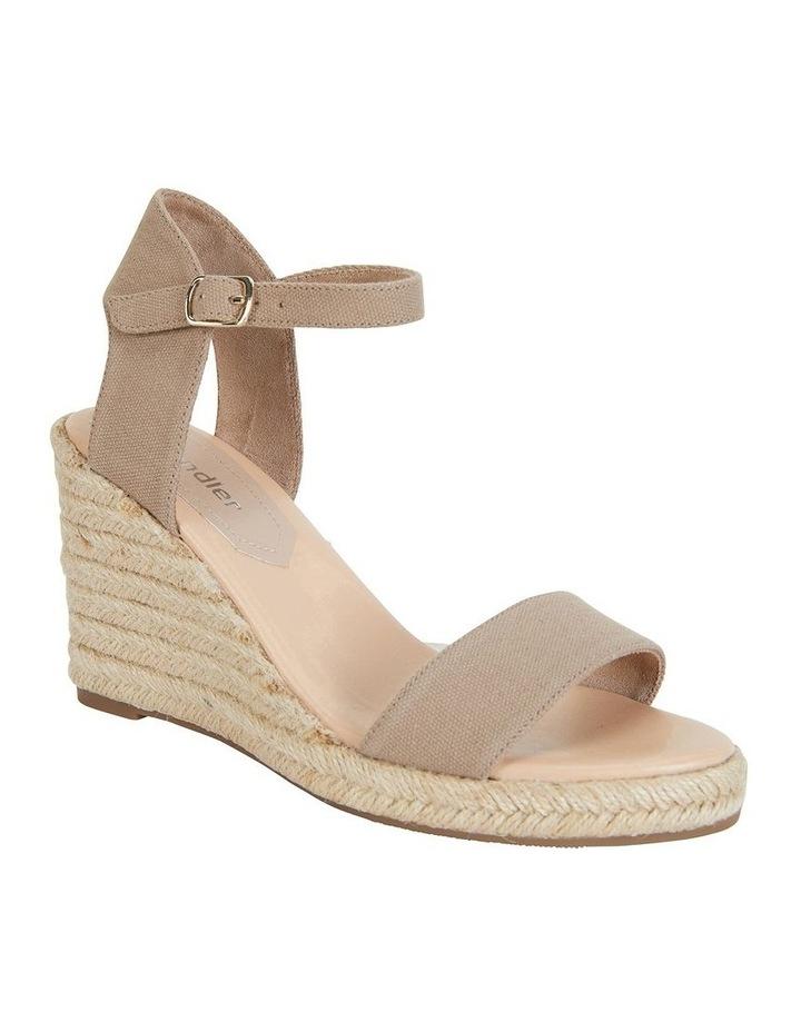 Audrey Natural Linen Sandal image 2
