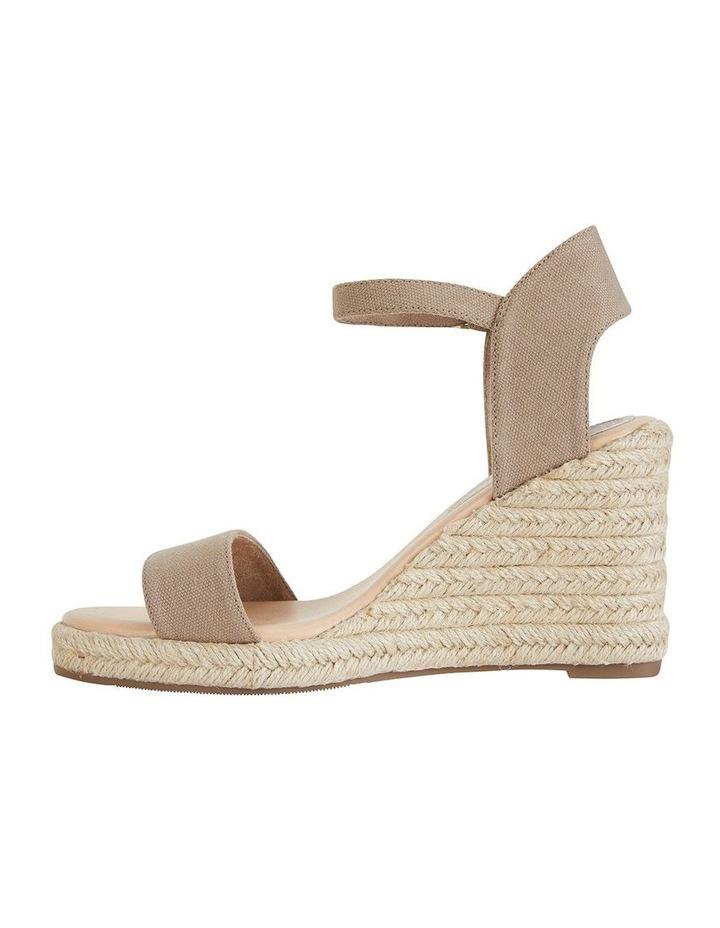 Audrey Natural Linen Sandal image 3