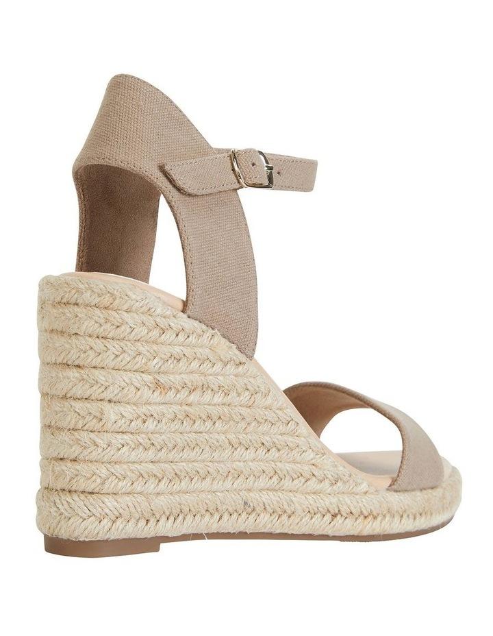Audrey Natural Linen Sandal image 4