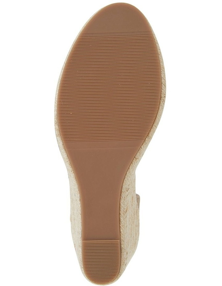 Audrey Natural Linen Sandal image 5