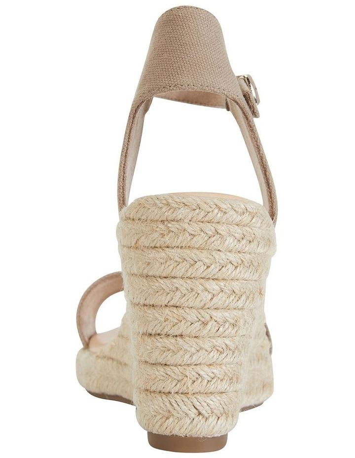 Audrey Natural Linen Sandal image 6