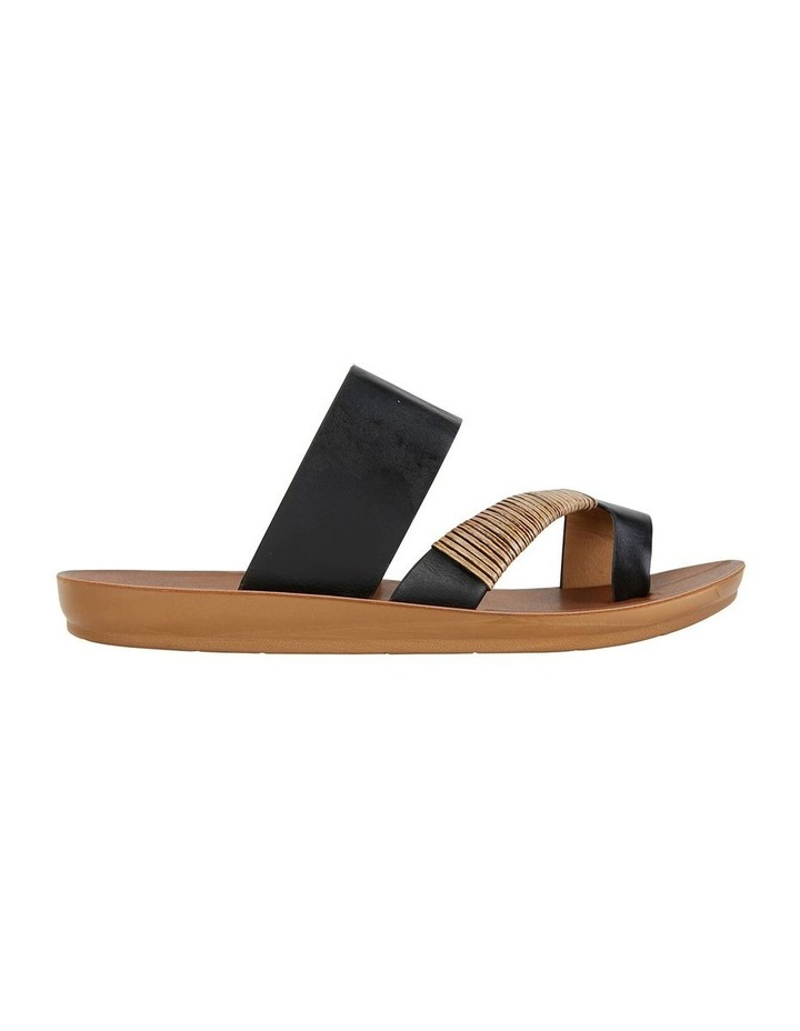 Gidget Black Smooth Sandal image 1