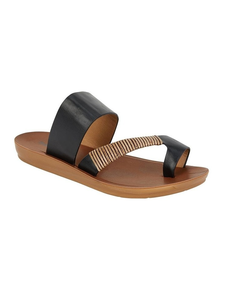 Gidget Black Smooth Sandal image 2