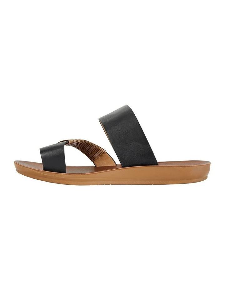 Gidget Black Smooth Sandal image 3
