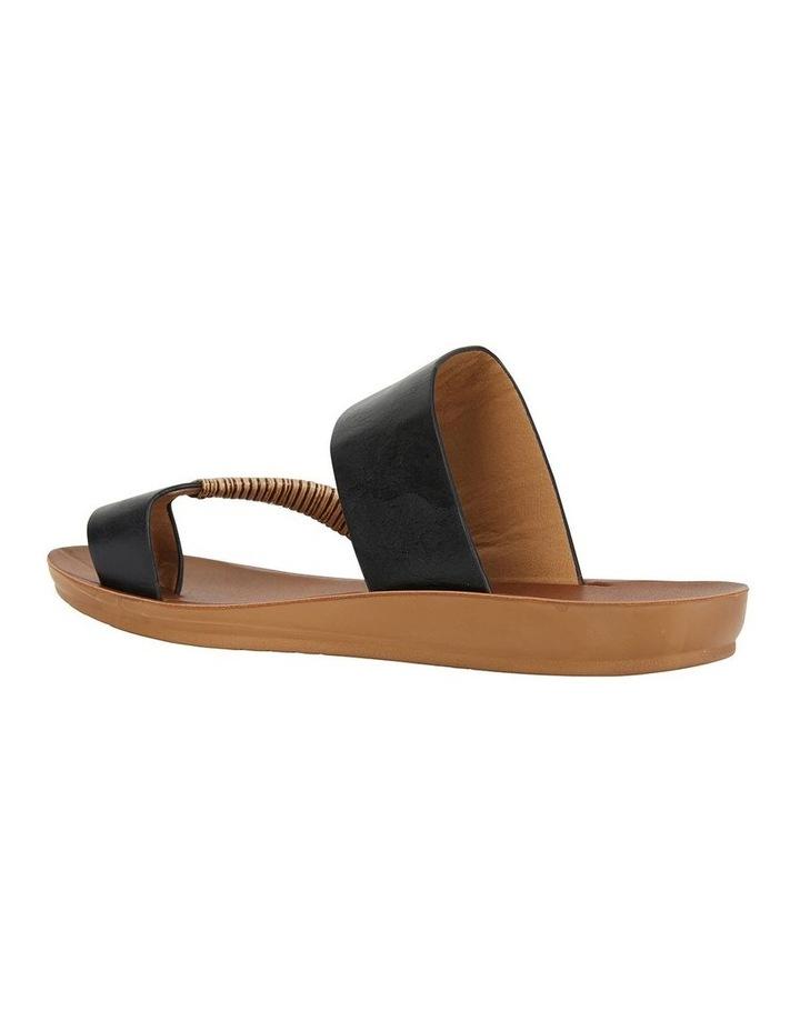 Gidget Black Smooth Sandal image 4