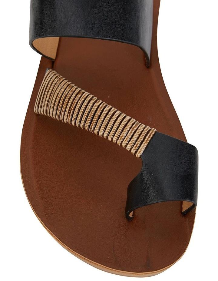 Gidget Black Smooth Sandal image 5