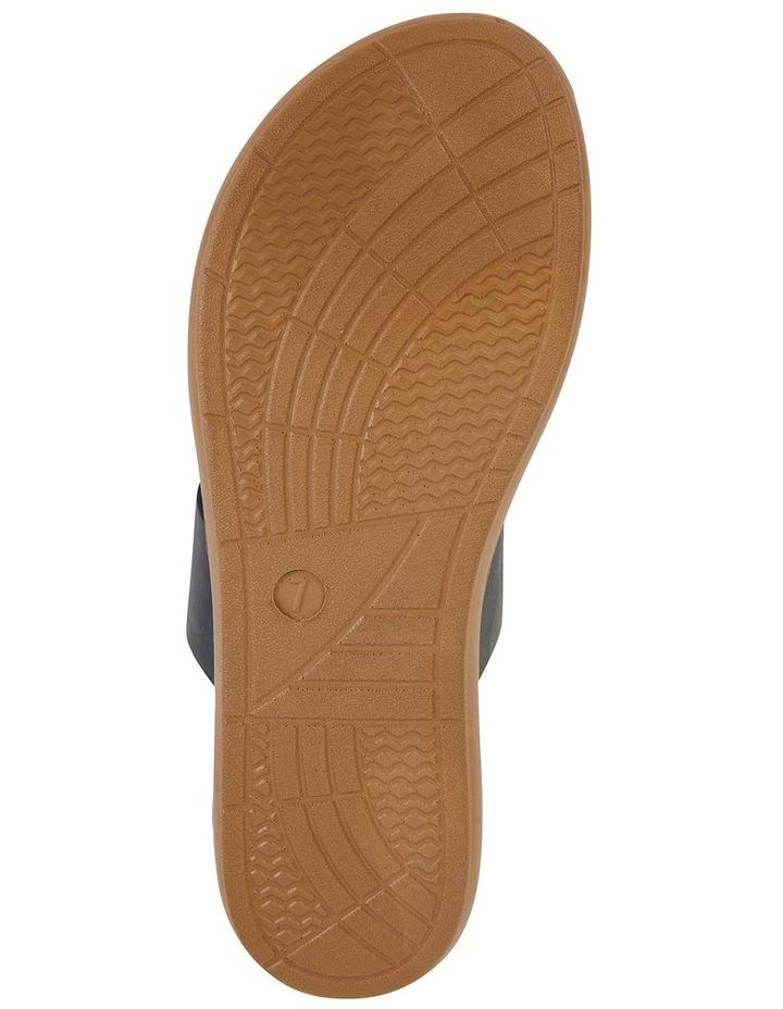 Gidget Black Smooth Sandal image 6