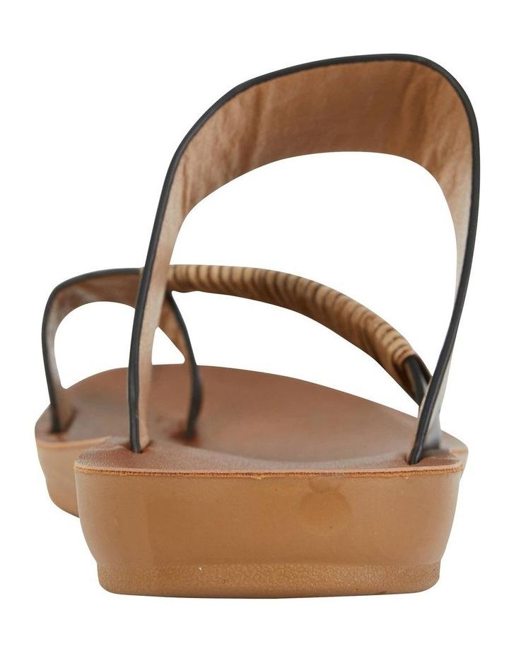 Gidget Black Smooth Sandal image 7