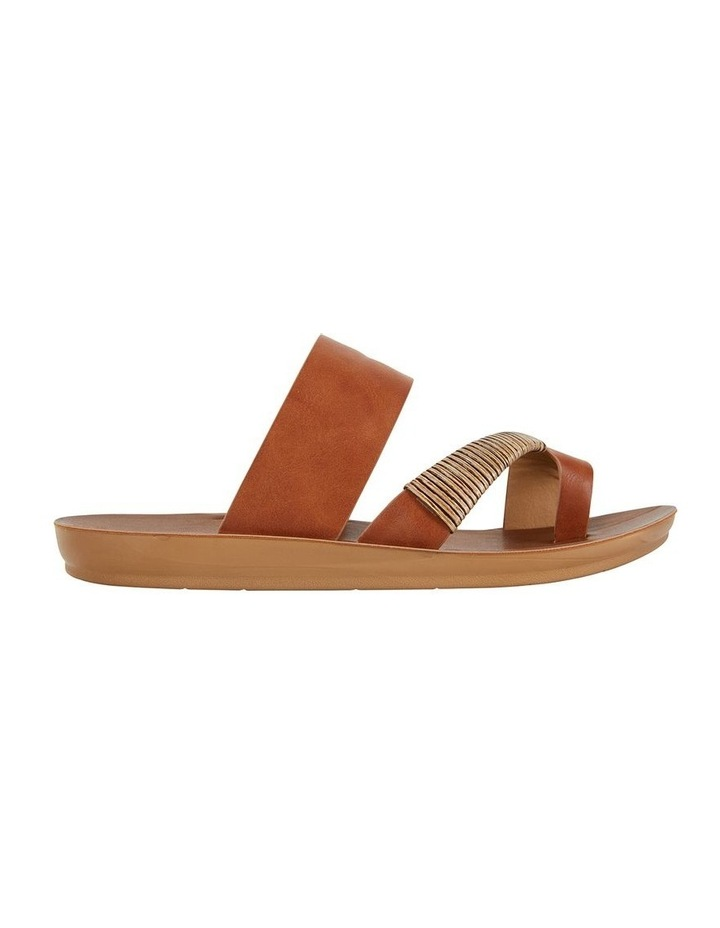 Gidget Tan Smooth Sandal image 1