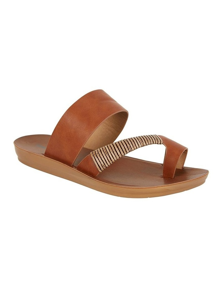 Gidget Tan Smooth Sandal image 2