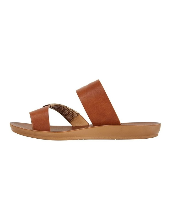 Gidget Tan Smooth Sandal image 3