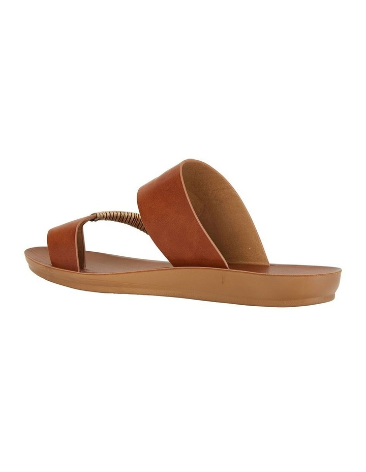 Gidget Tan Smooth Sandal image 4