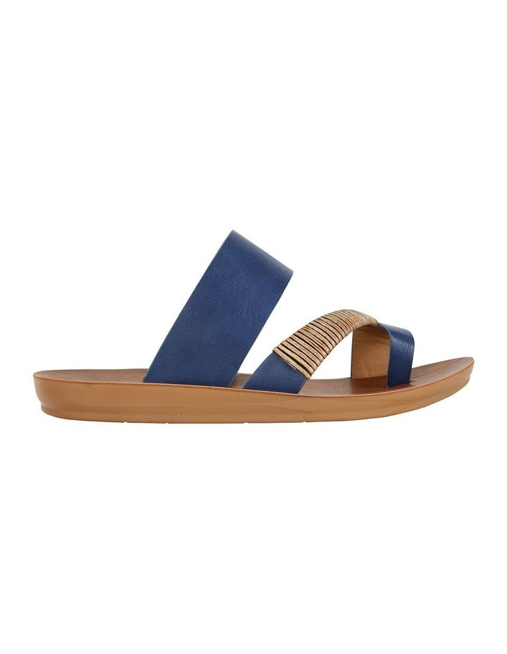Gidget Dark Blue Smooth Sandal image 1