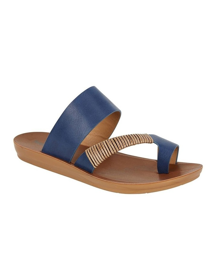 Gidget Dark Blue Smooth Sandal image 2
