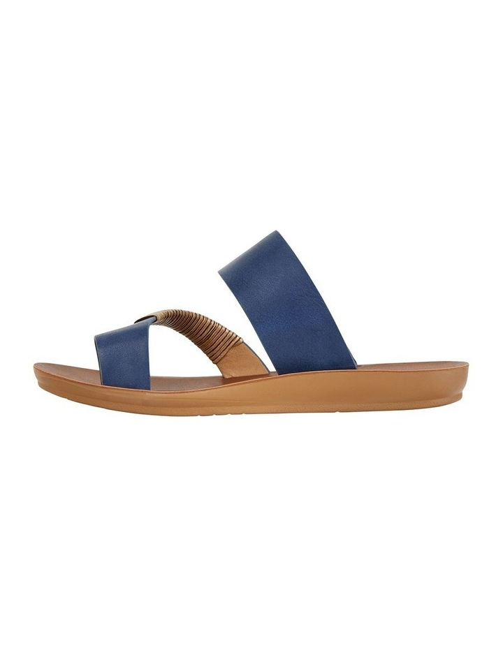 Gidget Dark Blue Smooth Sandal image 3