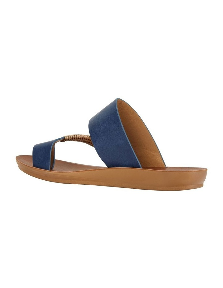 Gidget Dark Blue Smooth Sandal image 4