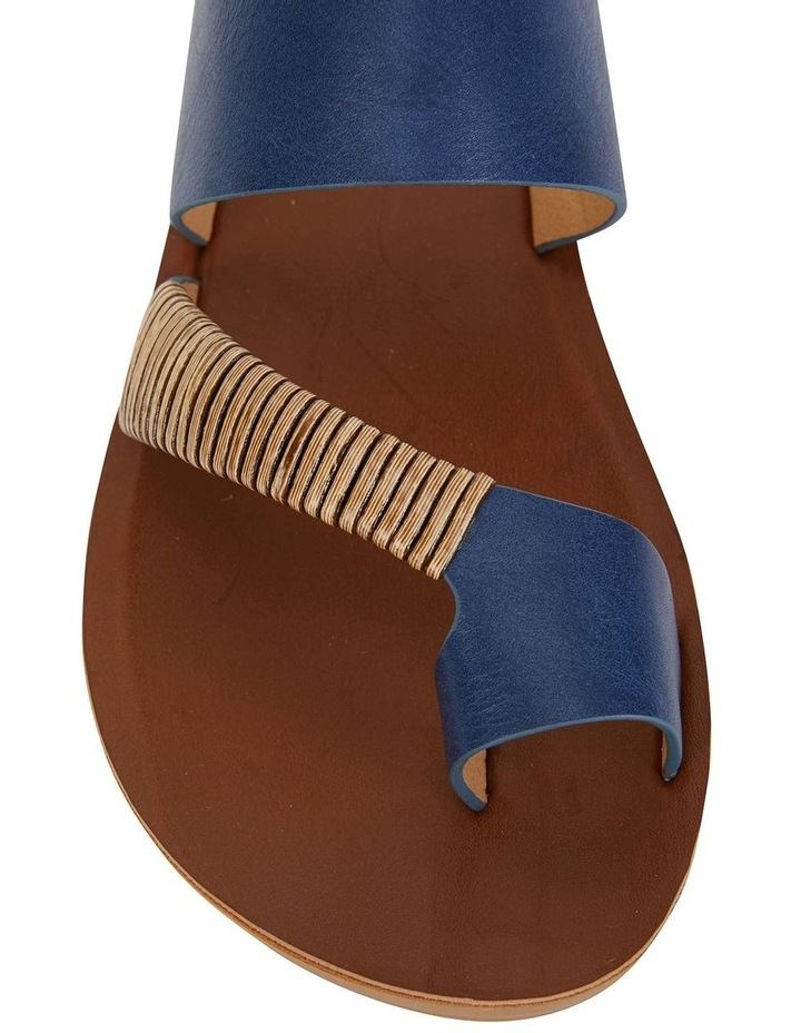 Gidget Dark Blue Smooth Sandal image 5