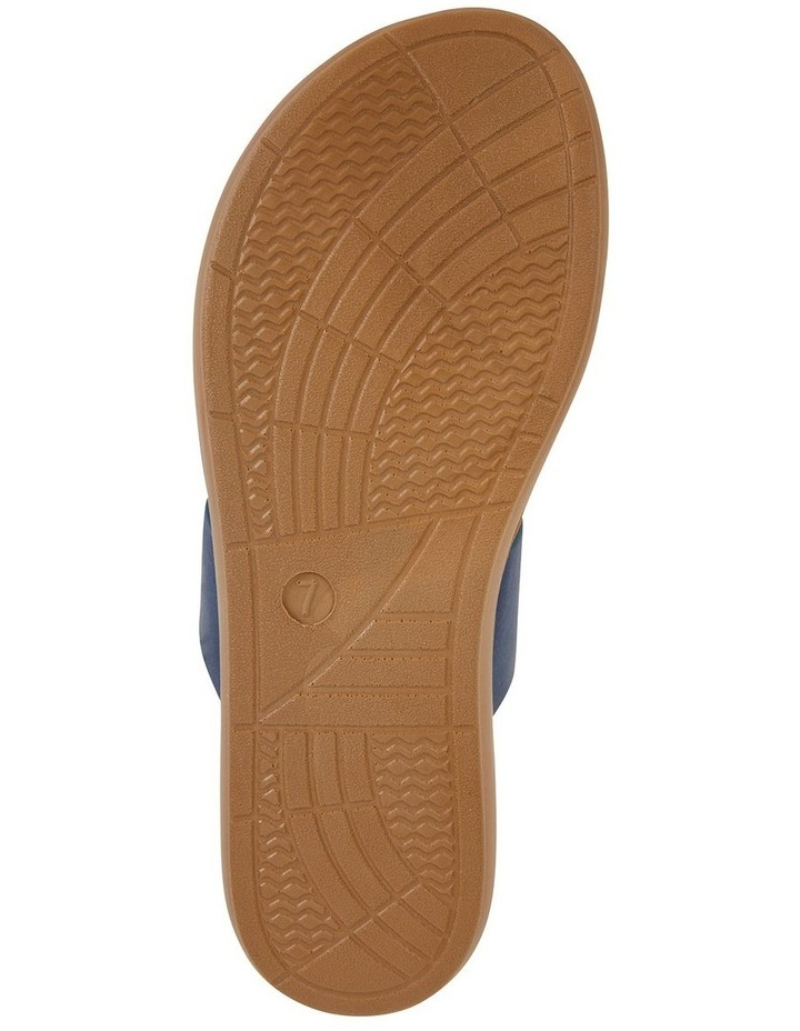 Gidget Dark Blue Smooth Sandal image 6