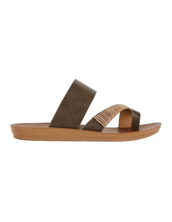 Gidget Khaki Smooth Sandal image 1