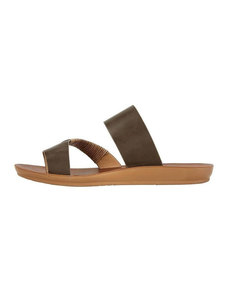 Gidget Khaki Smooth Sandal image 3