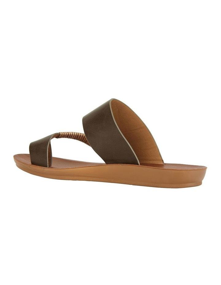 Gidget Khaki Smooth Sandal image 4