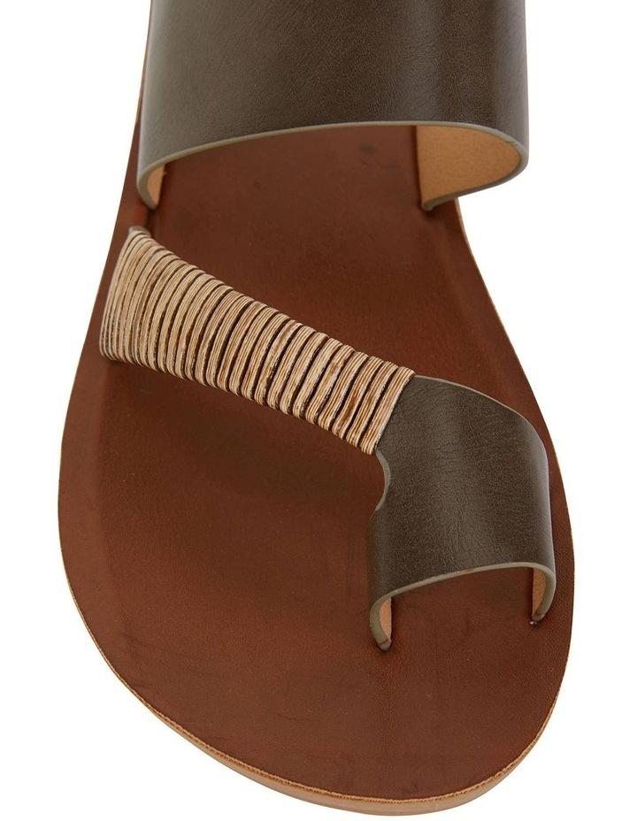 Gidget Khaki Smooth Sandal image 5