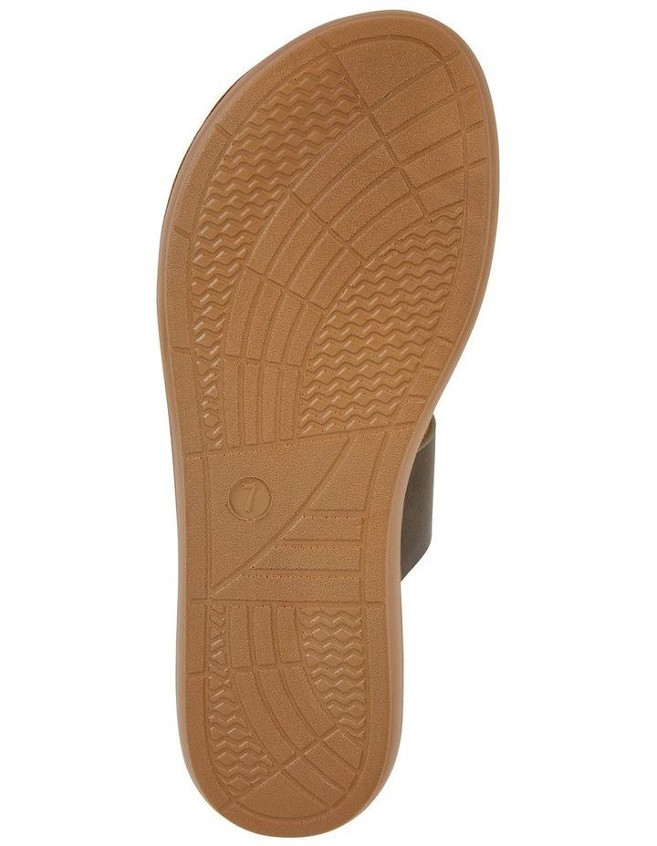 Gidget Khaki Smooth Sandal image 6