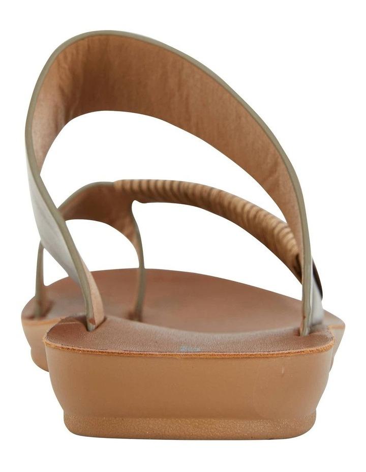 Gidget Khaki Smooth Sandal image 7