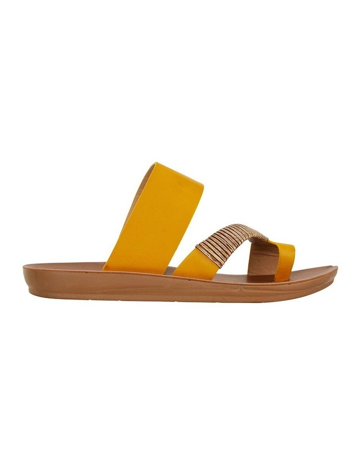 Gidget Mustard Smooth Sandal image 1