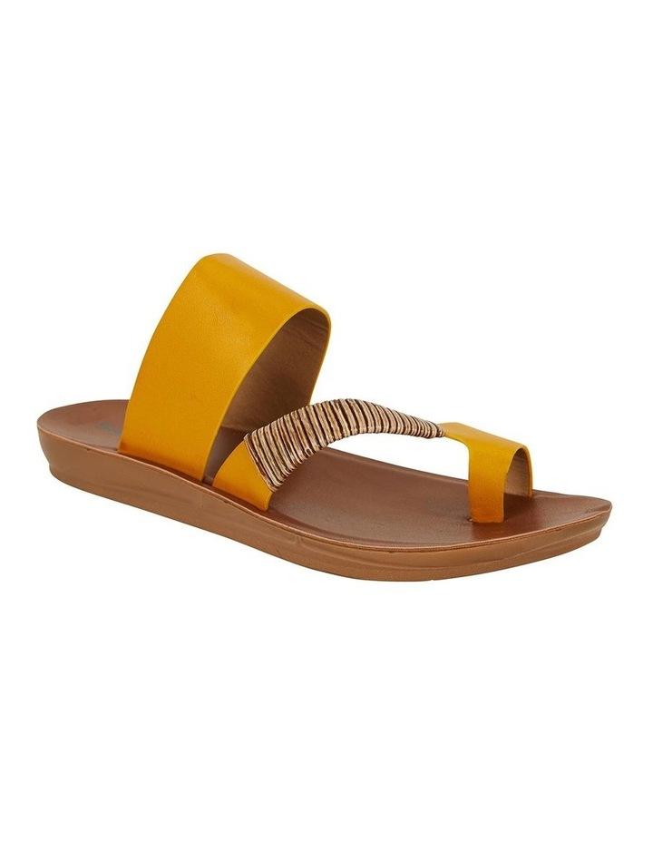 Gidget Mustard Smooth Sandal image 2