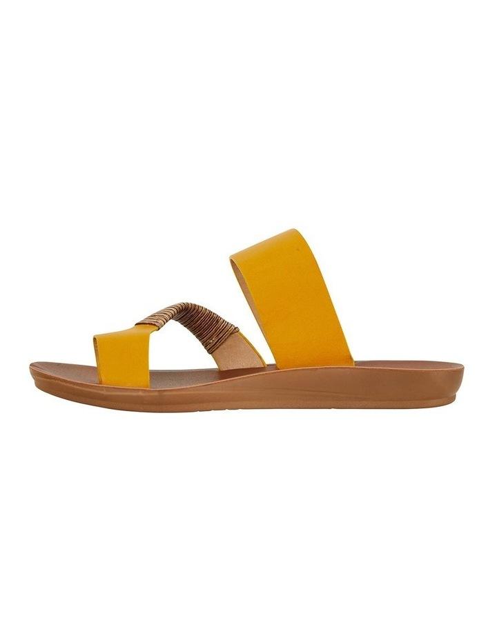 Gidget Mustard Smooth Sandal image 3