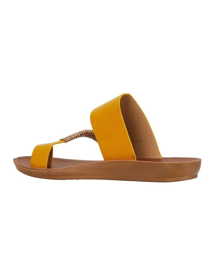 Gidget Mustard Smooth Sandal image 4