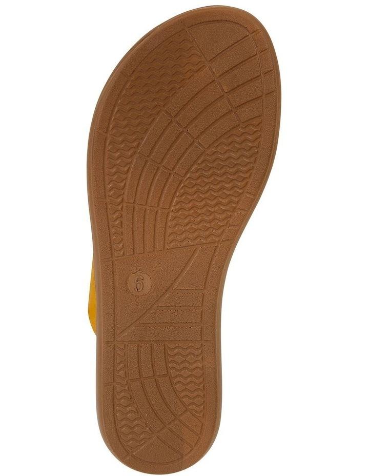 Gidget Mustard Smooth Sandal image 6