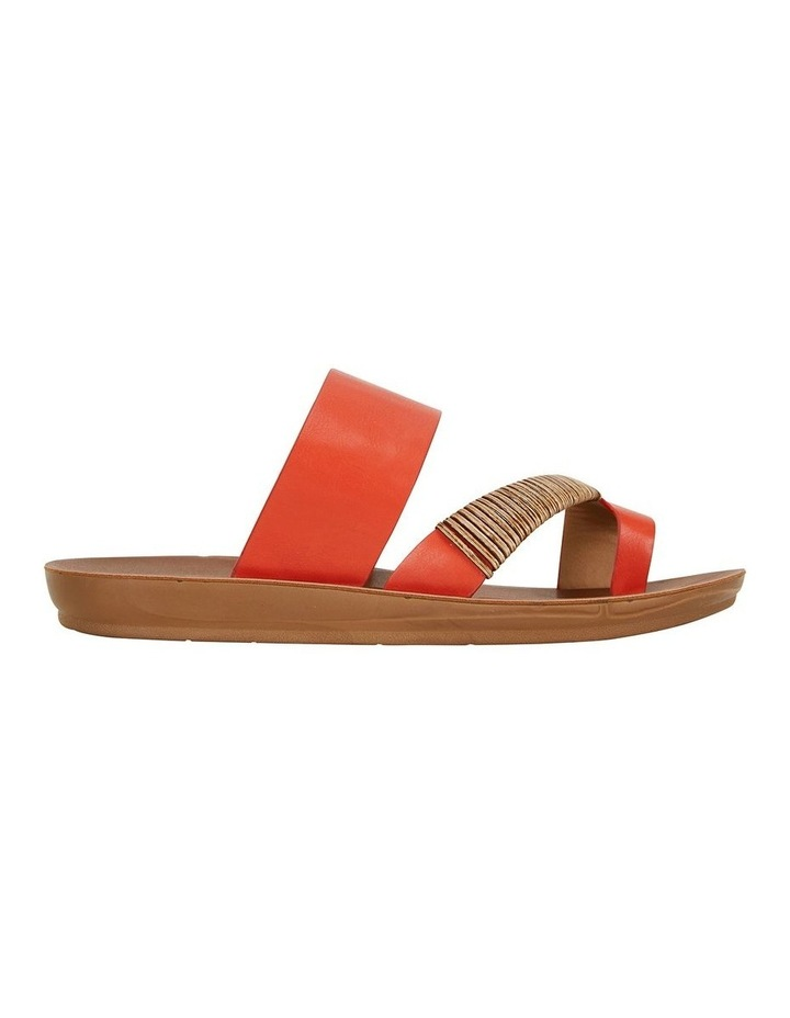 Gidget Tangerine Smooth Sandal image 1