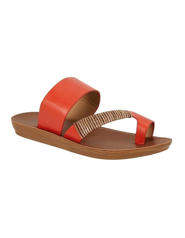 Gidget Tangerine Smooth Sandal image 2