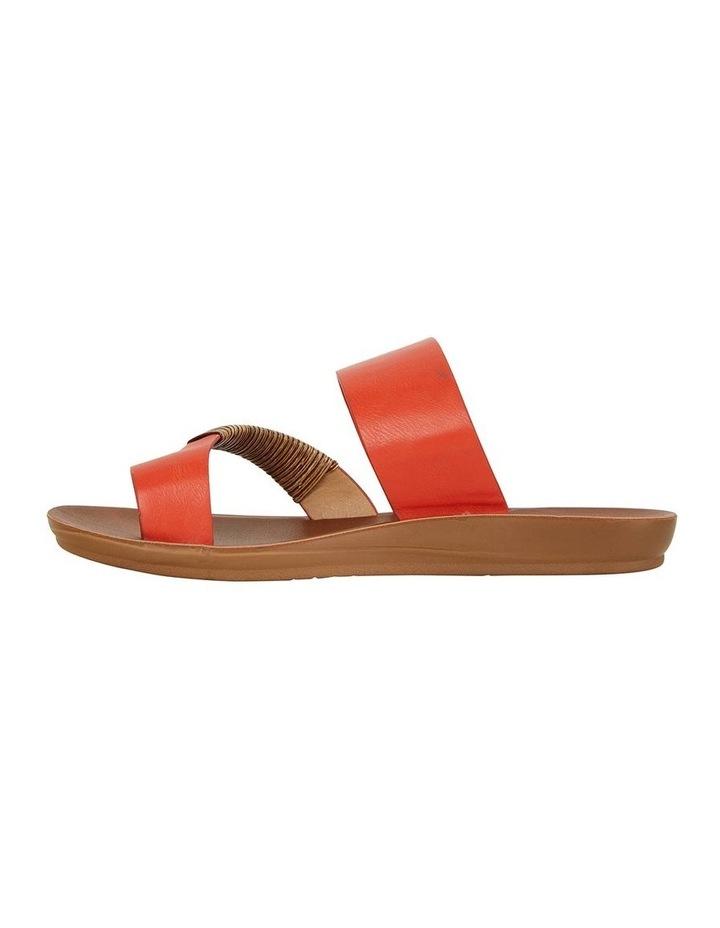 Gidget Tangerine Smooth Sandal image 3