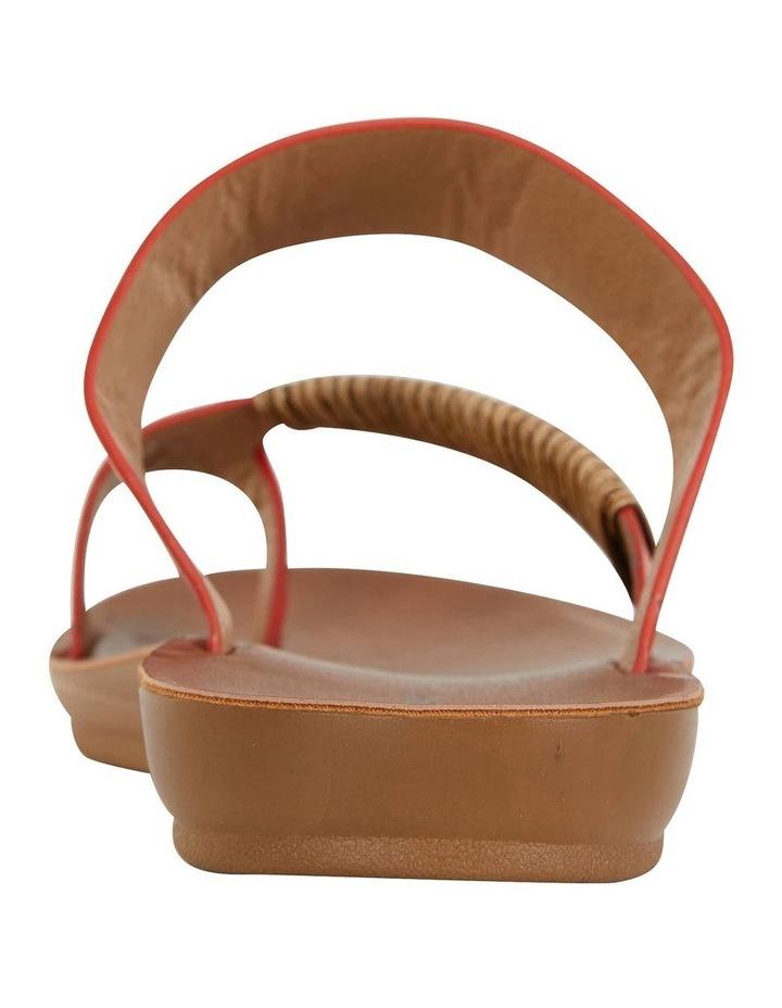 Gidget Tangerine Smooth Sandal image 5