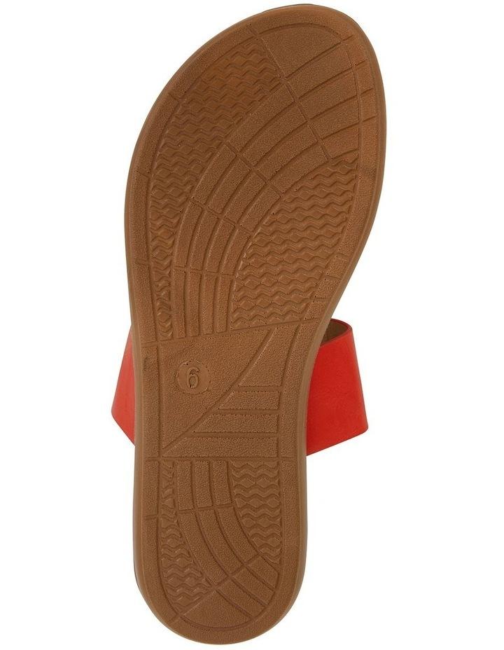 Gidget Tangerine Smooth Sandal image 6
