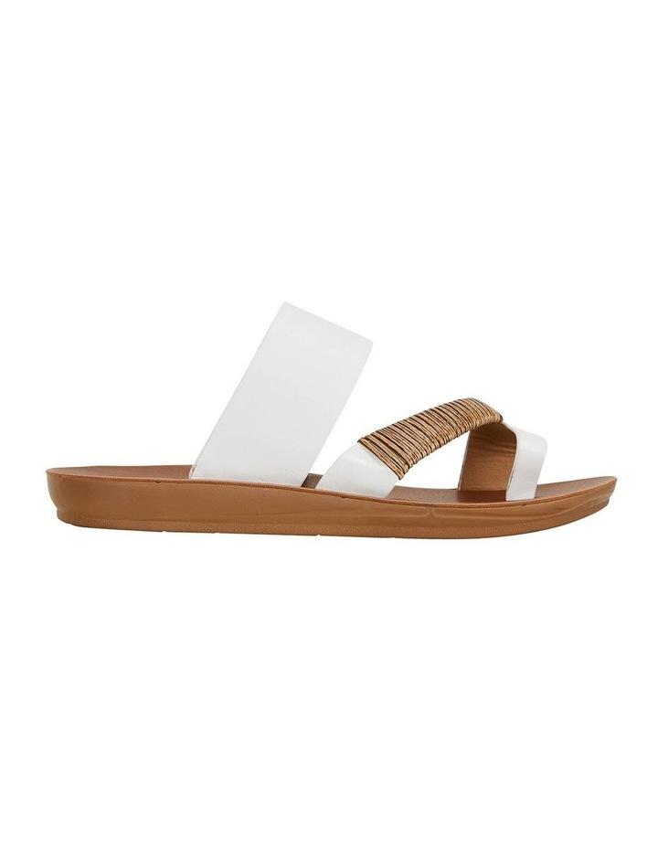 Gidget White Smooth Sandal image 1