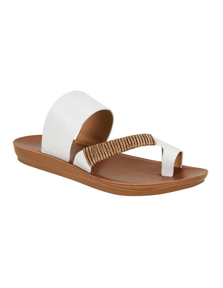 Gidget White Smooth Sandal image 2