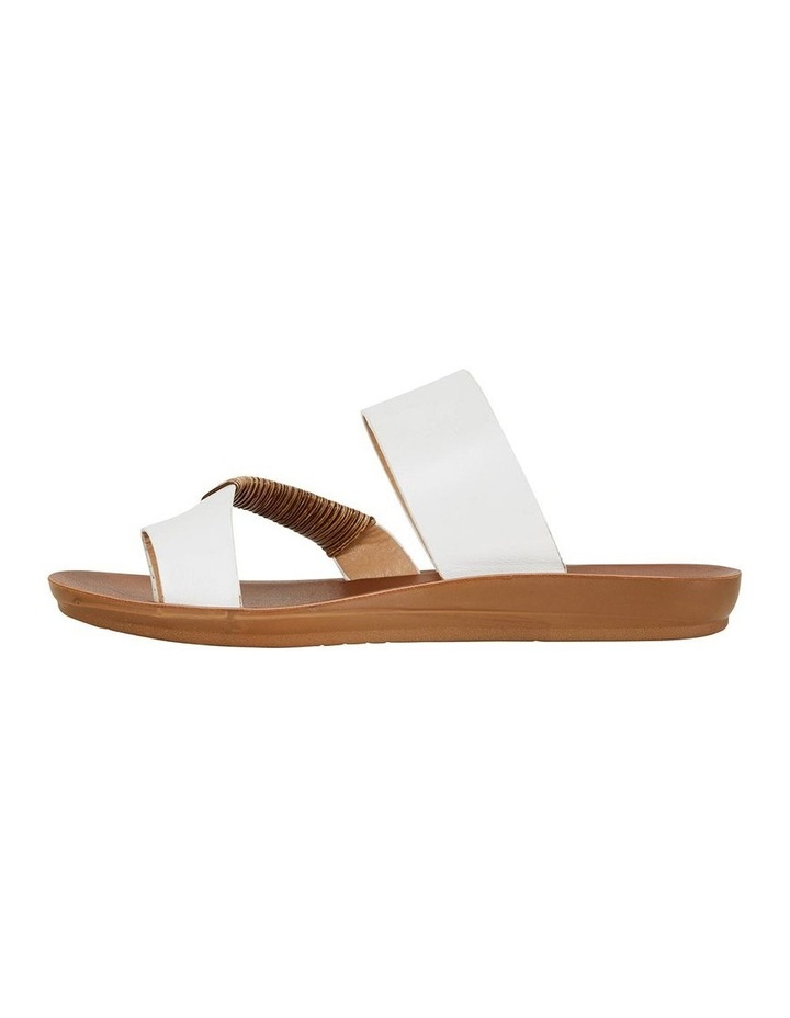 Gidget White Smooth Sandal image 3
