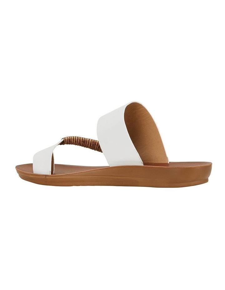 Gidget White Smooth Sandal image 4