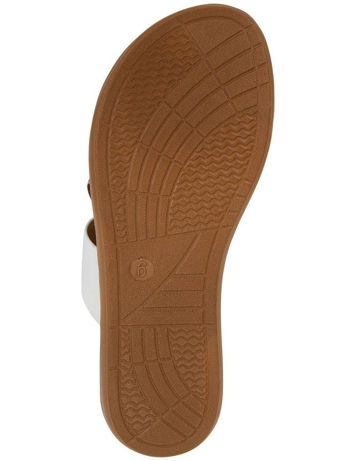 Gidget White Smooth Sandal image 6