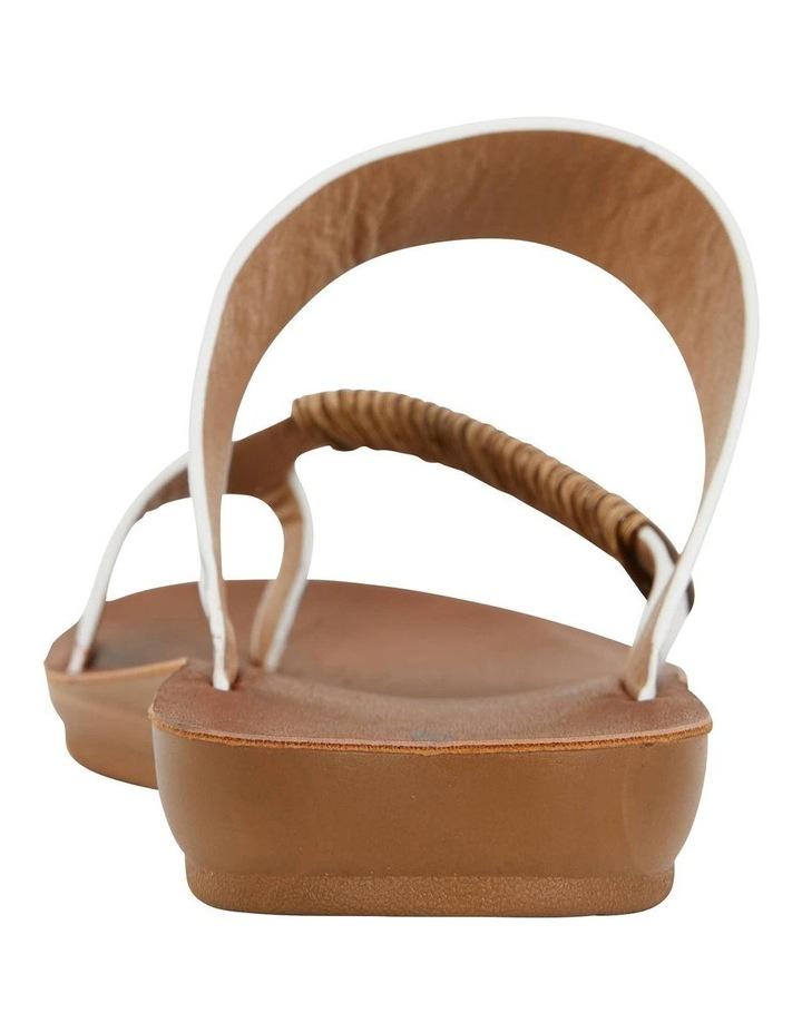 Gidget White Smooth Sandal image 7