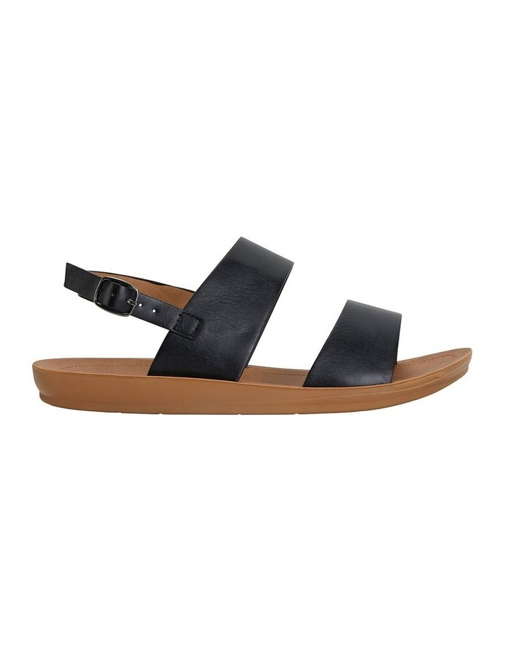 Ginger Black Smooth Sandal image 1