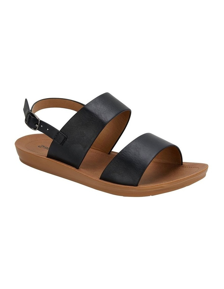Ginger Black Smooth Sandal image 2