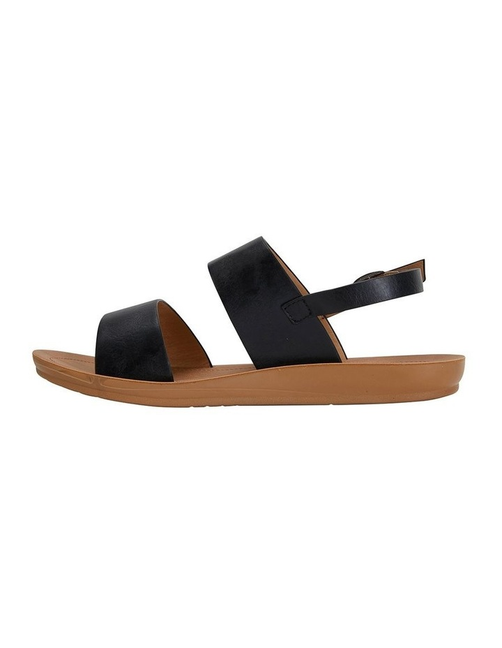 Ginger Black Smooth Sandal image 3