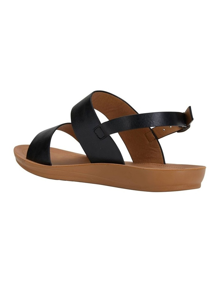 Ginger Black Smooth Sandal image 4